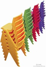 幼儿园家具塑料椅子图片
