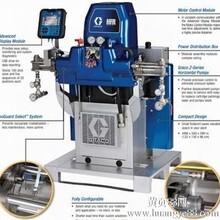 固瑞克HFR双组份配比供胶机可处理环氧树脂,硅树脂,聚脲,轻微填充料