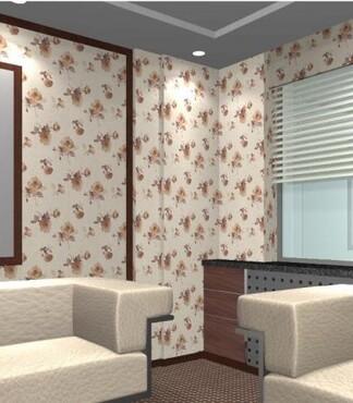 【东莞家装用无缝墙布无缝墙布的效果是怎样的_家装用无缝墙布价格|高清图片