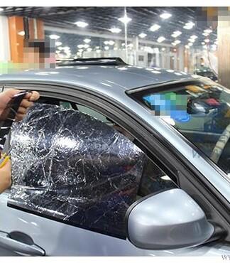 杭州汽车贴膜汽车贴膜价格宝马318I全车龙膜贴膜龙膜隔热膜防爆膜高清图片