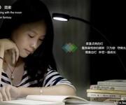 夹灯LED夹子灯小台灯书桌床头护眼学习可调光充电台灯图片