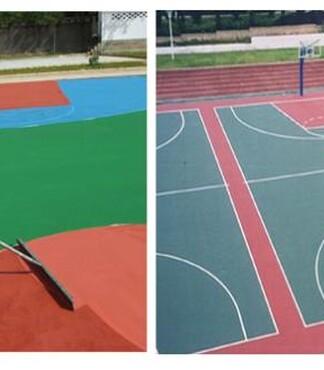 【张家港塑胶幼儿园操场图片价格_塑胶篮球场价格|图片】-黄页88网
