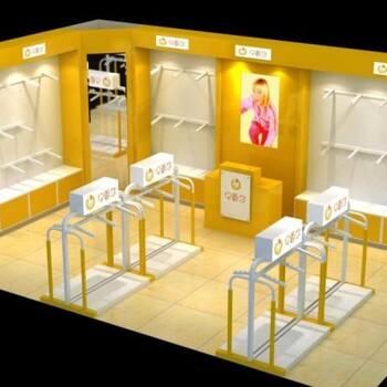 济南烤漆展柜设计制作童装展柜济南(山人)展柜装饰公司