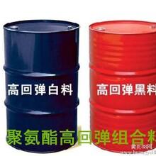 厂家供应聚氨酯高回弹万圣节面具组合料黑白料图片