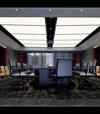 济南会议室装修 济南办公室装修公司 济南写字楼设计 -会议室装修