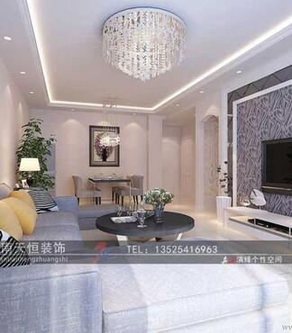【新房装修客厅铺木地板好还是铺地板砖好呢天恒装饰_客厅装修报价|