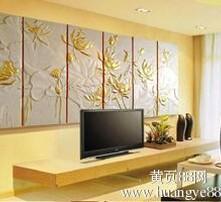 瓷砖玻璃彩雕,彩雕艺术,玻璃电视彩雕,彩雕背景图片