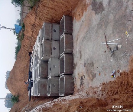 成品混凝土化粪池设计依据替代砖砌化粪池方便快捷预制化粪池