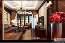 扬州阳光水岸三室两厅欧式风格装修效果图-扬州一号家居网-面对面装饰