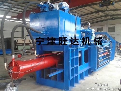 宁津旺达WDF-180型半自动纸板液压打包机
