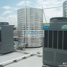 美的工厂空气能热泵机组扩容,大型空气能热水机直销商