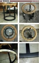 新款竹编玻璃面茶机图片简易客厅家具定制实用家具量身定做