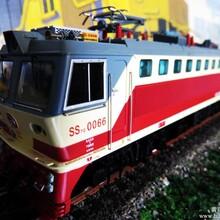 百万城火车模型CE00701SS7C型电力机车#0066成局重段-利顺恒达火车模型