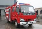 质量最好的小型水罐消防车2吨庆铃五十铃水罐消防车配置价格图片