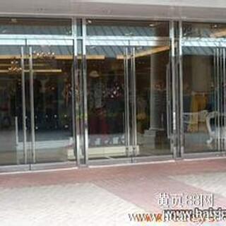 太原门面房装修拆旧改装玻璃门、不锈钢玻璃门、钢化玻璃门图片1