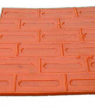 【压膜地坪施工材料进口聚氨酯橡胶模具百种款型模具批发压模地坪模图片