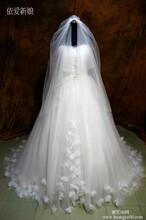 供应依爱新娘2014新款婚纱优雅抹胸蓬蓬裙高端婚纱礼服定制丝婚纱