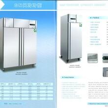 酒店厨房商用冷藏柜厂家批发立式双门冷藏柜