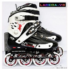 LABEDA开火-V3轮滑鞋平花鞋旱冰鞋成人男女轮滑鞋图片