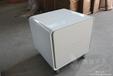 白色钢琴烤漆床边柜简约现代床头柜二斗柜宜家收纳柜储物柜可定制