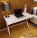 包邮白色钢琴烤漆电脑桌现代简约办公桌家用简易写字台书桌可定制