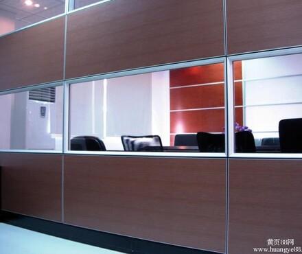 广东办公室高隔间价格,广东玻璃高隔间效果图,广东双玻百叶高隔间