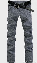 骆驼2014秋季新款男士装弹力小脚裤
