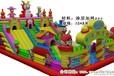 广场游乐儿童充气城堡生产厂家孩子们专属蹦蹦床