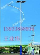 文安县太阳能LED路灯新农村改造工程