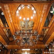 武汉迪尔原木定制公司高端原木定制吊顶