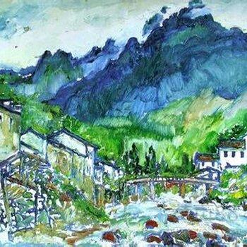 北京刘海粟油画能卖多少钱图片