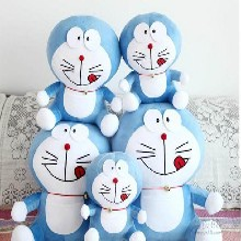哆啦A梦毛绒玩具公仔布娃娃机器猫情人节礼物成都礼品定制