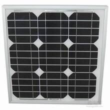 25W单晶正A级太阳能电池板山西太阳能电池板厂家家用太阳能发电系统厂家