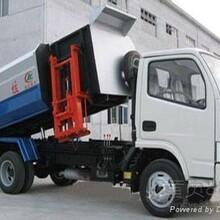 厂家直销国四东风多利卡挂桶式垃圾车自装卸式垃圾车