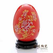 婚庆礼品花瓶,红色花瓶,青花瓷花瓶,景德镇花瓶厂家图片
