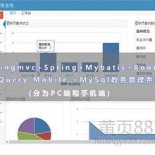 基于Springmvc....教务管理系统