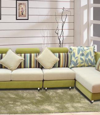 【三明家具供应皇玛梦丽莎布艺沙发、免拆洗布艺沙发、贵妃组合布艺图片