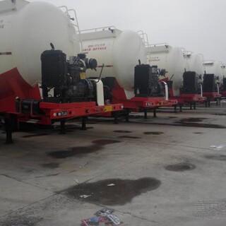 山东生产水泥罐运输散装水泥罐车新设计50立方超轻型罐车图片5