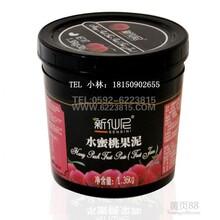 供应新仙尼水蜜桃果酱1.36KG罐蜜桃诱惑专用原材料图片