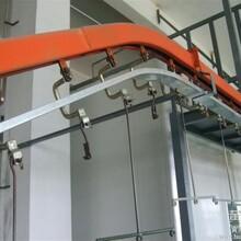 茶山收购木器涂装生产线设备,厂家回收五金喷塑自动烤漆吊挂输送线