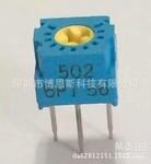 20320K可调精密电位器TOCOS单圈黄心电位器GF063P1B203K图片