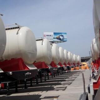 山东生产水泥罐运输散装水泥罐车新设计50立方超轻型罐车图片3