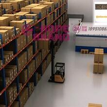 智能仓库管理系统三维动画物流仓储产业园宣传片立体仓库自动化仓库