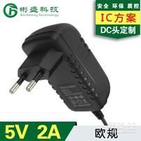 5V1.5a电源适配器,平板电脑USB充电头,3C认证电源适配器,恒压路由器电源图片