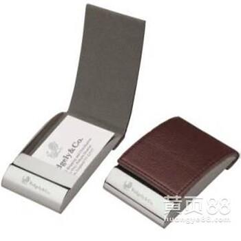 黑色卡包名片夹低价订做名片夹礼品订做WC26