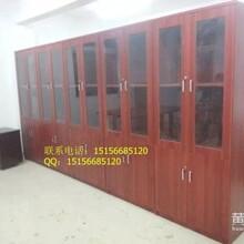 全新铁皮玻璃文件柜定做木质文件柜合肥俞丽供应
