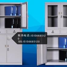 多门文件档案柜带锁玻璃资料柜合肥俞丽办公直销