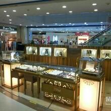 深圳展柜厂家高端珠宝展柜设计不锈钢展示柜爱华尚珠宝展示柜定做