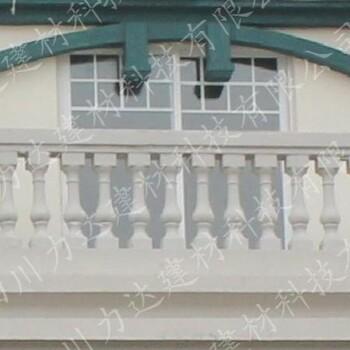 供应四川力达景观仿石栏杆仿汉白玉栏杆铸造石栏杆花岗石栏杆