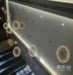 简约现代LED创意餐厅烟花吊灯moooi火花球工程大堂大厅吊灯图片